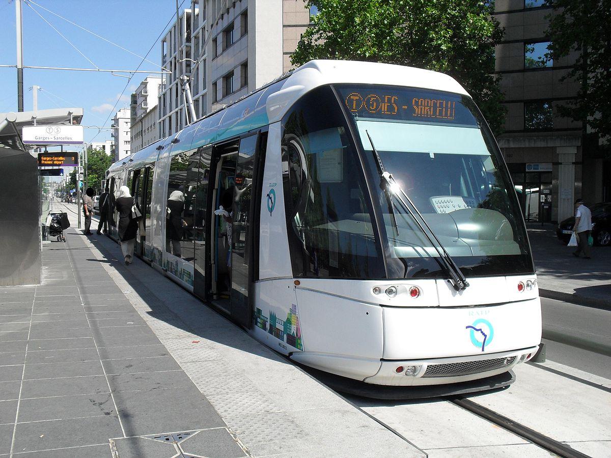 Ligne 5 du tramway d 39 le de france wikip dia - Dessin tramway ...