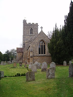 Bromham, Bedfordshire - Image: TL0151 church 2