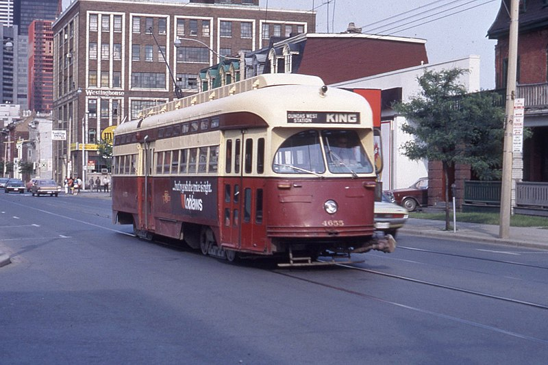 File:TTC PCC streetcar on King 16670382912.jpg