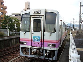 Takachiho Railway - Image: Takachiho Railway TR100