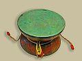 Tambour Damaru (British Museum) (8697430998).jpg