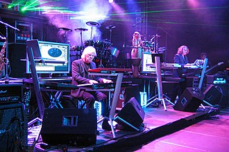 Tangerine Dream - Tangerine Dream performing in 2007