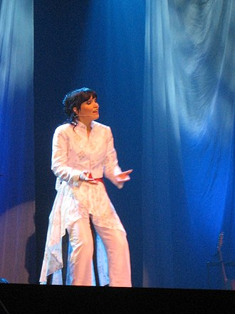 Tarja Turunen - Turunen live during a Christmas concert in Lahti, Finland, on December 12, 2006