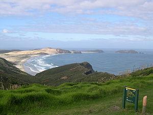Cape Maria van Diemen - Te Werahi Beach and Cape Maria van Diemen