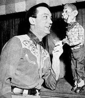 "Ted Brown (radio) - Brown as ""Bison Bill"" when he filled in for Bob Smith on Howdy Doody."