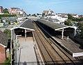 Teignmouth railway station, South Devon - view from road bridge.jpg
