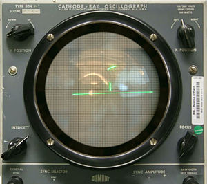 Tennis for Two - Tennis for Two on a DuMont Lab Oscilloscope Type 304-A