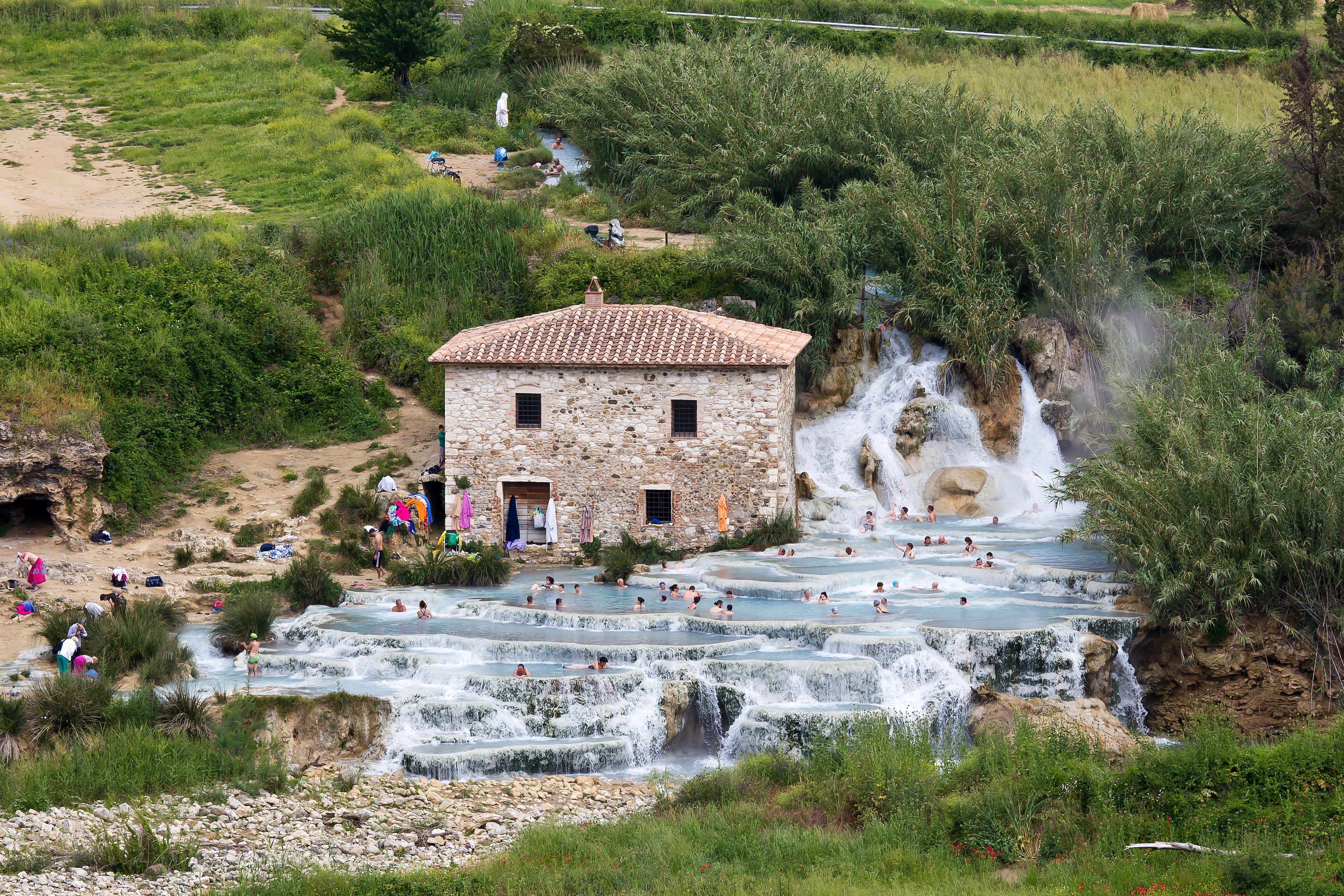 Terme di Saturnia | Cascate del Mulino