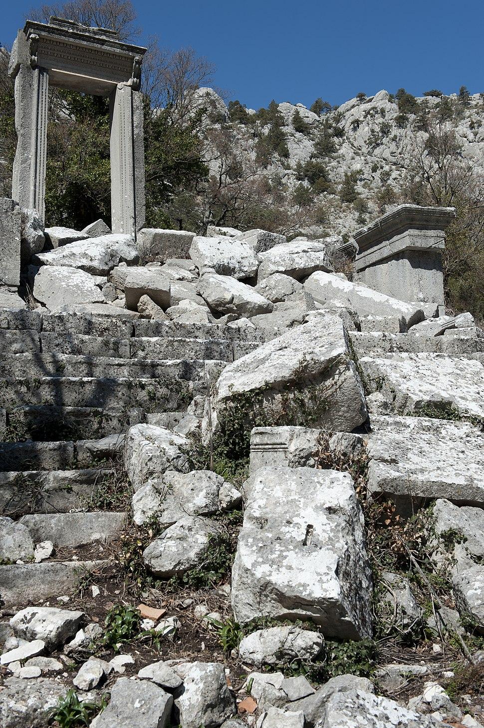 Termessos Hadrian Temple 3552