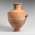 Terracotta Hadra hydria (water jar) MET DP121874.jpg