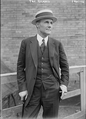 New York Rangers - Tex Rickard, president of Madison Square Garden, was awarded the Rangers in 1926.