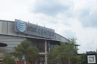 AT&T Center Arena in San Antonio, Texas, United States