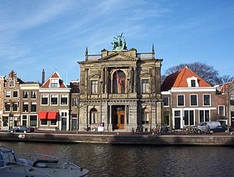 Teylers Museum - Teylers Museum on the Spaarne in Haarlem