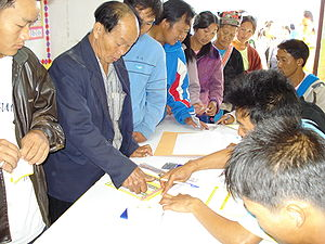 Elections in Thailand - Election Day during the 2007 general election