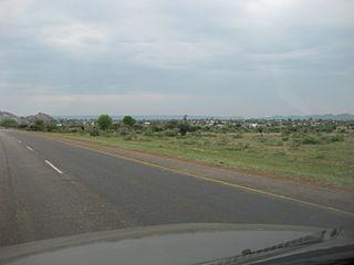 Thamaga Village in Kweneng District, Botswana