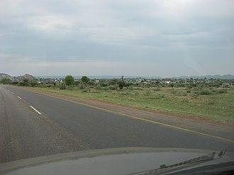 Thamaga - Image: Thamaga Highway