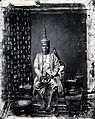 The 1st King of Siam, King Mongkut, in state robes, Bangkok Wellcome V0037292.jpg