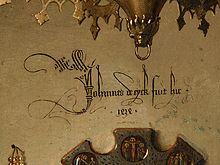 Johannes De Eyck Fuit Hic 1434 Jan Van Was Here