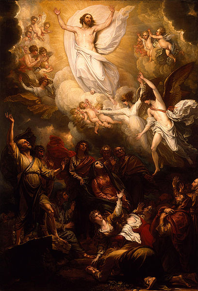 File:The Ascension) by Benjamin West, PRA.jpg