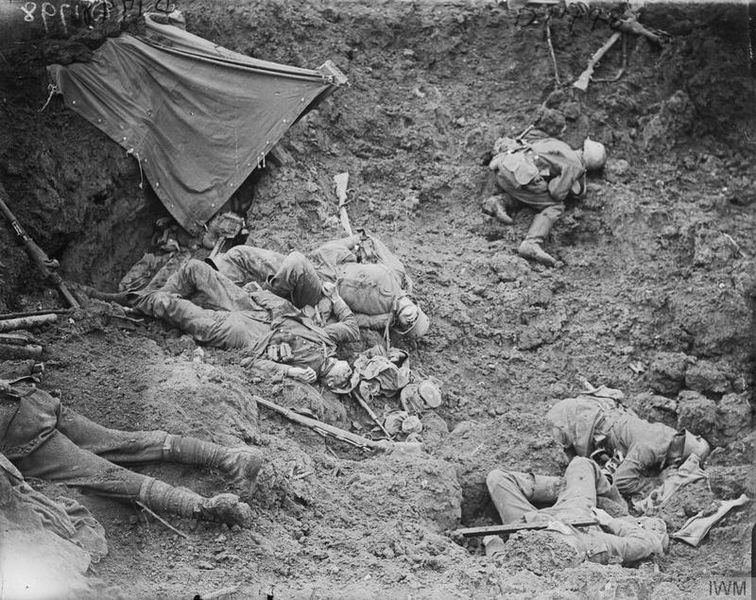 first experiences in the trenches of passchendaele Life in the trenches :  the experiences of  particularly in major assaults such as the battle of the somme and the battle of passchendaele (july .