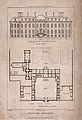 The British Museum at Montague House; a layout plan, and ele Wellcome V0013506.jpg