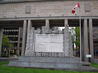 East and West Memorial Buildings - The Canadian Phalanx