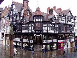 Black And White Revival Architecture
