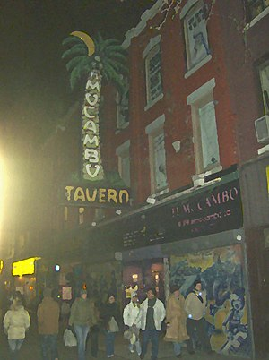 El Mocambo - Image: The Elmo at night