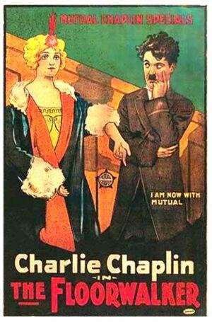 The Floorwalker - Theatrical poster to The Floorwalker