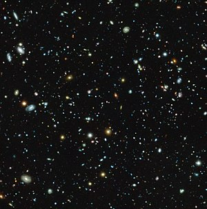 Fornax - Image: The Hubble Ultra Deep Field seen with MUSE