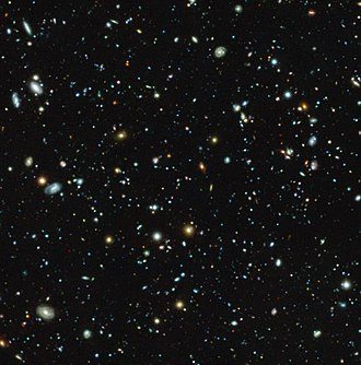 Fornax - The Hubble Ultra Deep Field seen with MUSE.