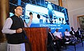 The Minister of State for Civil Aviation, Shri Jayant Sinha addressing at the launch of the Aircraft Maintenance Engineering (AME) Apprenticeship Programme, in New Delhi.jpg