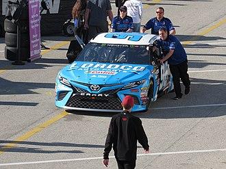 D. J. Kennington - Kennington's car at Daytona International Speedway.