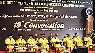 National Institute of Mental Health and Neurosciences - Honourable Prime Minister, Shri Narendra Modi at the 19th convocation of the institute