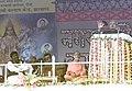 The Prime Minister Shri Atal Bihari Vajpayee addressing the Virat Vanvasi Sammelan at Borabati Maidan after laying down the foundation stone of Regional Institute of Medical Science (RIMS) in Ranchi on February 01, 2004.jpg