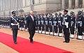 The Prime Minister of Malaysia, Dato' Sri Mohd Najib Tun Abdul Razak inspecting the Guard of Honour, at the ceremonial reception, at Rashtrapati Bhavan, in New Delhi on January 20, 2010.jpg