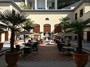 The Repulse Bay - Courtyard of The Repulse Bay Shopping Arcade