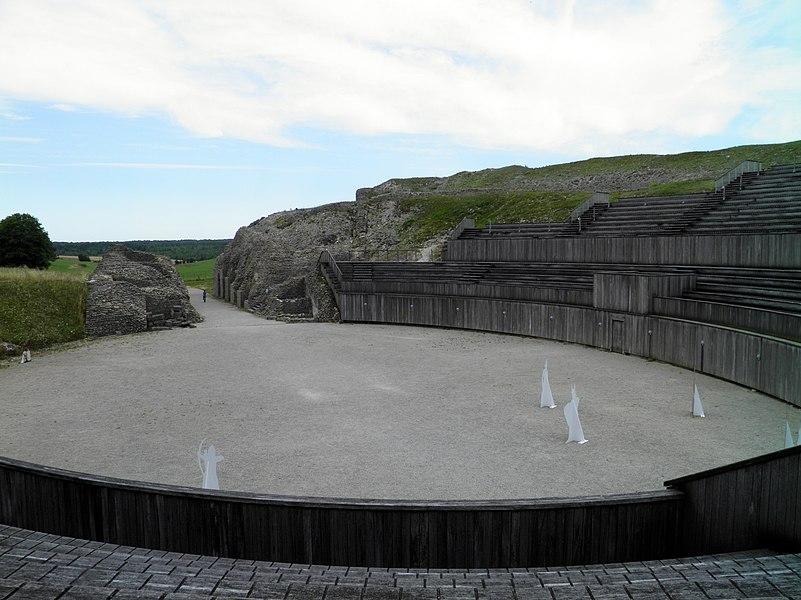 The Roman Amphitheatre, Roman Grand (Andesina), France