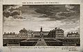 The Royal Hospital, Chelsea; viewed from the South with boat Wellcome V0012924.jpg