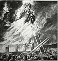 The Skinner Ladder, Montreal firemen combating the Great St. Urbain Street Fire of April 1877.jpg