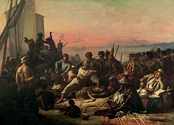 """""""The Slave Trade"""" by Auguste Francois Biard, 1840"""