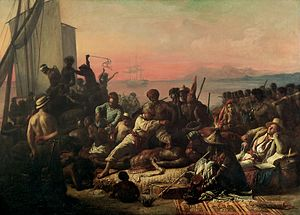 François-Auguste Biard - Scenes on the Coast of Africa by François-Auguste Biard, 1840