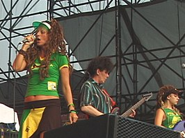 The Slits in New York, 2007