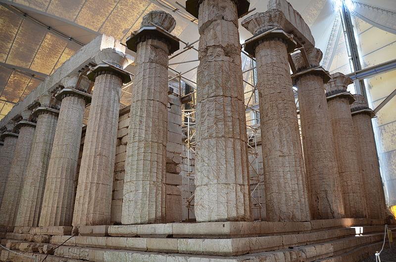 The Temple of Apollo Epikourios at Bassae, Arcadia, Greece (14250629376).jpg
