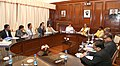 The Union Home Minister, Shri Rajnath Singh chairing a meeting with the delegation of Gorkhaland Territorial Administration (GTA), in New Delhi.jpg