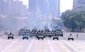 2015 China Victory Day Parade - Military vehicles in Victory Day Parade