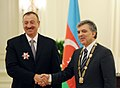 The presidents of Azerbaijan and Turkey have been awarded at Cankaya Palace 10.jpg