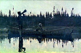 Their first moose hunt