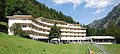 Therme Vals - main building of hotel complex, Vals, Graubünden, Switzerland - 20090809.jpg