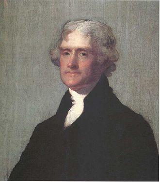 Jefferson–Hemings controversy - Image: Thomas Jefferson